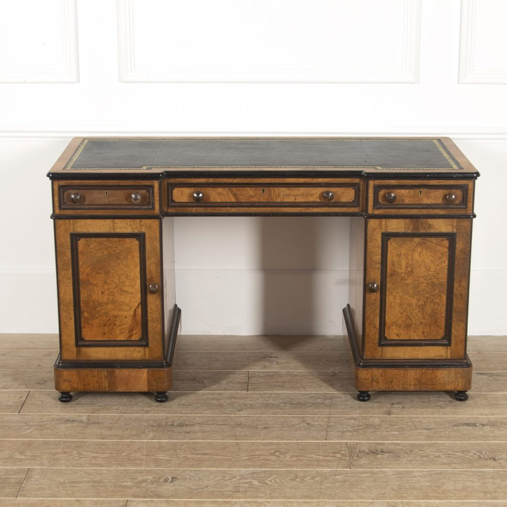 Pedestal Desk By Lamb Of Manchester. Dressing Table